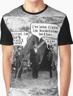 Lincoln: Dipped in Handsome Batter Graphic T-Shirt