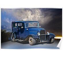 1932 Ford 2-Door Sedan Poster