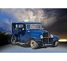1932 Ford 2-Door Sedan Photographic Print