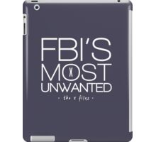 The FBI's Most Unwanted iPad Case/Skin