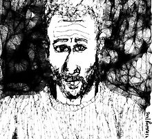 Self-portrait/imaginary -(210313)- Digital drawing/Program: The Scribbler by paulramnora