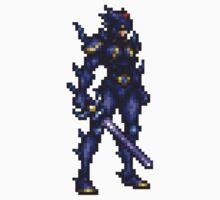 Cecil Harvey (DRK) boss sprite - FFRK - Final Fantasy IV (FF4) Kids Tee