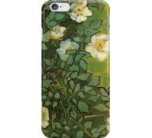 Van Gogh- Wild Roses iPhone Case/Skin