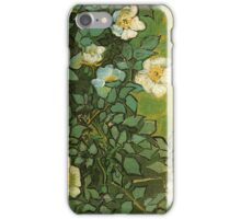 Van Gogh- Wild Roses iPhone Case/Skin