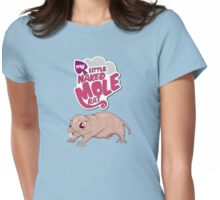 My Little Mole Rat Womens Fitted T-Shirt