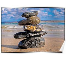Stacked Stones Poster
