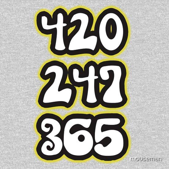 420 247 365 T Shirt