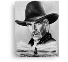 Sam Elliot  Lone Rider Canvas Print