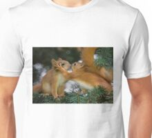 Baby Squirrel Kiss Unisex T-Shirt