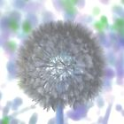 Pastel Dandelion by aprilann