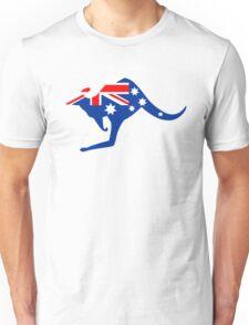Australian Kangaroo Flag Unisex T-Shirt