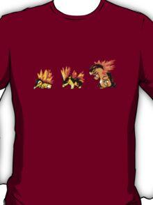 Cyndaquil evolution  T-Shirt