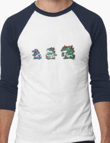 Totodile evolution  Men's Baseball ¾ T-Shirt