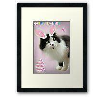 Bunny Ears Framed Print