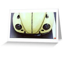 Volkswagen Käfer Greeting Card