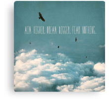 Aim Higher Canvas Print