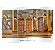 Foyer and elevator Poster