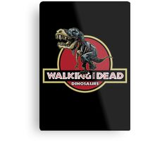 Walking With Dead Dinosaurs Metal Print