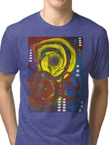 abstract blah Tri-blend T-Shirt