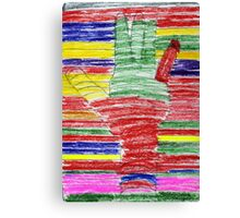 Lend A Hand to the Arc Canvas Print