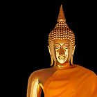 Golden Buddha by fernblacker