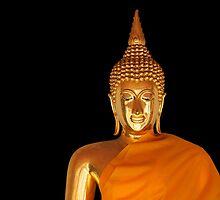 Golden Buddha by fernblacker