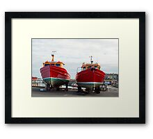 St Cuthbert 2 and 3 during the closed season Framed Print