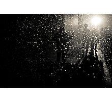 Nuclear rain - snowstorm Photographic Print
