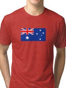 Australian Flag Tri-blend T-Shirt