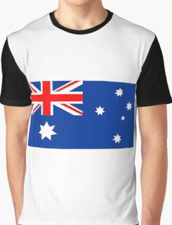 Australian Flag Graphic T-Shirt