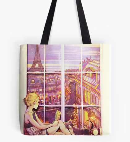 A Window to Paris Tote Bag