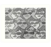 Sunglassed Ladies Rock!! Art Print