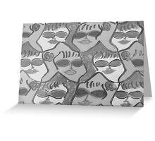 Sunglassed Ladies Rock!! Greeting Card