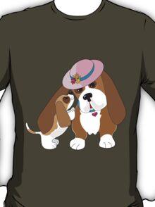 Basset Talk Mom T-Shirt