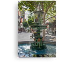 Rundle Mall - Heritage Fountain Metal Print