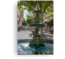 Rundle Mall - Heritage Fountain Canvas Print