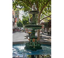 Rundle Mall - Heritage Fountain Photographic Print