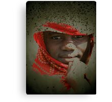 Portrait of a Ugandan Girl Canvas Print
