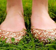 Sparkly Feetsies by StripesAndSpots