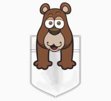 Pocket Bear Kids Tee