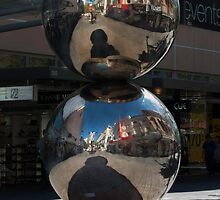 Rundle Mall - Silver Ball or Mall's Balls by DPalmer