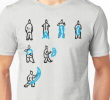 Waterbending (offset) Unisex T-Shirt