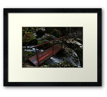 The Iron Bridge - Skelwith Force Framed Print