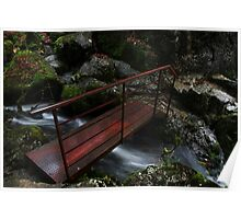 The Iron Bridge - Skelwith Force Poster