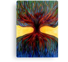 Tree Bird Canvas Print