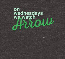 On wednesdays we watch Arrow Unisex T-Shirt