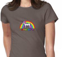 Terraria Rainbow Unicorn Womens Fitted T-Shirt