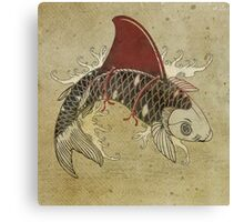 koi shark fin 03 Canvas Print