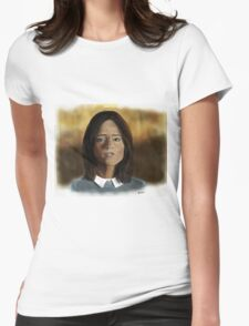 Face the Raven Womens Fitted T-Shirt