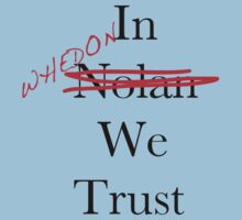 In Whedon We Trust Baby Tee